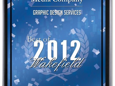 John Potter Media Awarded Best of Wakefield in Graphic Design 2012