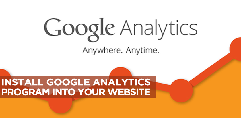 Install Google Analytics Program into Your Website