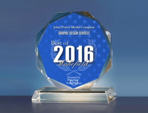 John Potter Media Company Receives 2016 Best of Wakefield Award for Graphic Design