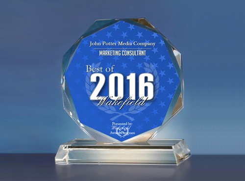 John Potter Media Company Receives 2016 Best of Wakefield Award for Marketing Consulting
