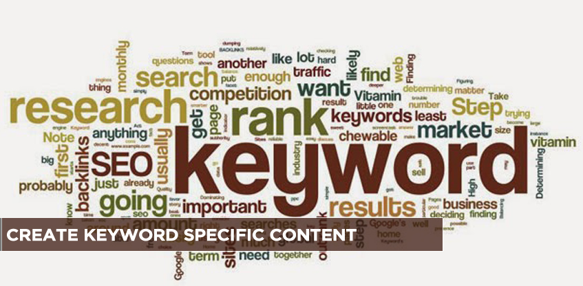 Create Keyword Specific Content