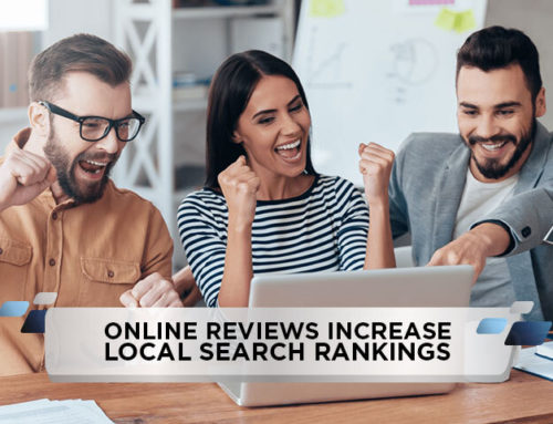 Online Reviews Increase Local Search Rankings